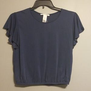 Caution to the Wind crop top size large